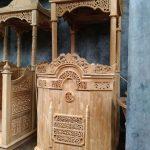 Mimbar Masjid Podium Jepara Ukiran