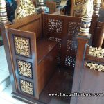 Jual Mimbar Masjid Podium Kubah Jepara Ready Stock HM-024