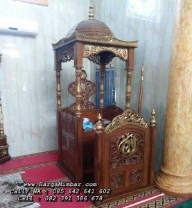 Harga Mimbar Masjid Ukiran Jepara Murah