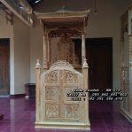 Mimbar Jati Ukir Jepara Kubah Masjid