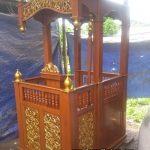 Model Mimbar Masjid Minimalis Ukiran Jepara