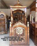 Mimbar Masjid Ukiran Murah Kayu Jati