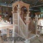 Mimbar Masjid Nabawi Minimalis Modern Jepara