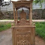 Mimbar Masjid Jati Jepara Ukiran Kaligrafi