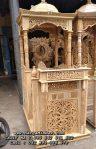 Jual Mimbar Masjid Ukiran Kubah Kayu Jati