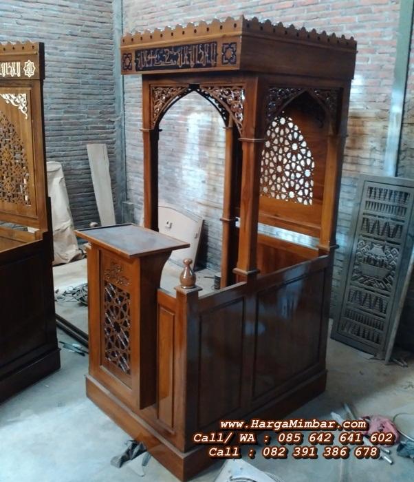 Mimbar Masjid Minimalis Sederhana terbaru