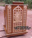 Model Podium Minimalis Kayu Jati Jepara
