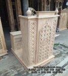 Podium Mimbar Masjid Jati Minimalis Jepara