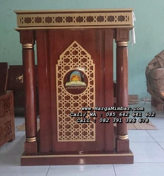 Podium Mimbar Masjid Jepara Minimalis